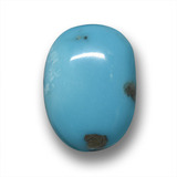 thumb image of 7.6ct Fancy Cabochon Blue Turquoise (ID: 458770)