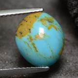 thumb image of 2.2ct Fancy Cabochon Blue Turquoise (ID: 473750)