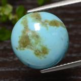 thumb image of 4.4ct Round Cabochon Blue Turquoise (ID: 474273)