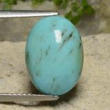 thumb image of 3.2ct Oval Cabochon Blue Green Turquoise (ID: 481053)