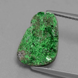 thumb image of 5ct Fancy Crystal Cluster Green Uvarovite Garnet Drusy (ID: 433925)