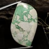 thumb image of 32.8ct Fancy Cabochon Green Variscite (ID: 472565)
