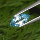 thumb image of 1.4ct Marquise Facet Blue Zircon (ID: 288464)
