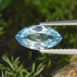 thumb image of 1.5ct Marquise Facet Blue Zircon (ID: 288467)