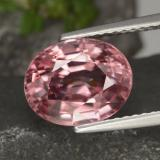 thumb image of 4.6ct Oval Facet Rose Pink Zircon (ID: 309446)