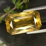 thumb image of 9.7ct Octagon / Scissor Cut Yellow Golden Zircon (ID: 317060)