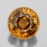 thumb image of 21.7ct Round Facet Yellow Golden Zircon (ID: 350292)