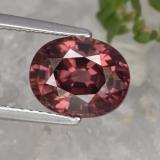 thumb image of 3.7ct Oval Facet Rose Pink Zircon (ID: 374879)