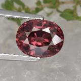 thumb image of 3.1ct Oval Facet Rose Pink Zircon (ID: 375052)