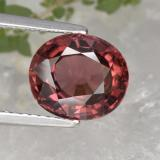 thumb image of 3.7ct Oval Facet Rose Pink Zircon (ID: 379691)