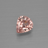 thumb image of 1ct Pear Facet Peach Zircon (ID: 399952)
