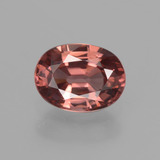 thumb image of 2.7ct 椭圆形切面 Wine Red 锆石 (ID: 406734)