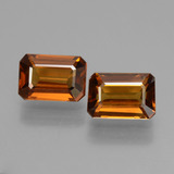 thumb image of 2.8ct Octagon Facet Orange Zircon (ID: 429717)