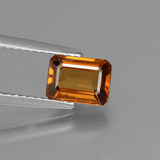 thumb image of 1.7ct Octagon Facet Orange Zircon (ID: 429797)