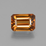 thumb image of 1.6ct Octagon Facet Orange Zircon (ID: 429870)