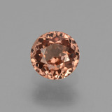 thumb image of 0.8ct Round Facet Rose Pink Zircon (ID: 430031)