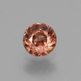 thumb image of 0.7ct Round Facet Rose Pink Zircon (ID: 430033)