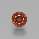 thumb image of 1.1ct Round Facet Rose Pink Zircon (ID: 430038)