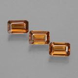 thumb image of 0.8ct Sfaccettatura ottagonale Earth Orange Zircone (ID: 430049)