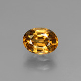 thumb image of 1.8ct Oval Facet Golden Zircon (ID: 430214)