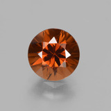 thumb image of 2ct Diamond-Cut Orange Zircon (ID: 431980)