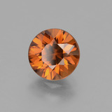 1.96 ct Diamond-Cut Orange Zircon Gem 7.13 mm  (Photo B)
