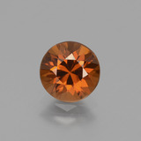 thumb image of 1.7ct Diamond-Cut Orange Zircon (ID: 434341)