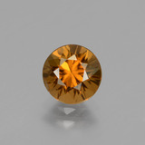 thumb image of 1.6ct Diamond-Cut Golden Orange Zircon (ID: 434342)