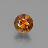 thumb image of 1.4ct Diamanten-Schliff bräunlich-orange Zirkon (ID: 434546)