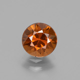 thumb image of 1.7ct Diamond-Cut Orange Zircon (ID: 434708)