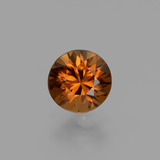 thumb image of 1.4ct Diamond-Cut Golden Orange Zircon (ID: 436942)