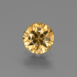 thumb image of 1.4ct Diamond-Cut Golden Zircon (ID: 437067)