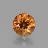 thumb image of 1.6ct Diamond-Cut Golden Zircon (ID: 437384)