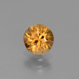 thumb image of 1.3ct Diamond-Cut Golden Zircon (ID: 437495)
