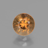 thumb image of 1.4ct Diamond-Cut Golden Zircon (ID: 437643)