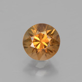 thumb image of 1.7ct Diamond-Cut Golden Orange Zircon (ID: 438360)