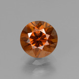 thumb image of 1.5ct Diamond-Cut Orange Zircon (ID: 438464)