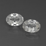 thumb image of 2.4ct Oval Facet White Zircon (ID: 438995)