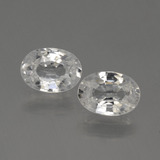 thumb image of 2.4ct Oval Facet White Zircon (ID: 439770)