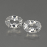 thumb image of 2.6ct Oval Facet White Zircon (ID: 439781)