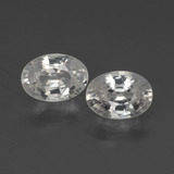 thumb image of 2.3ct Oval Facet White Zircon (ID: 439997)