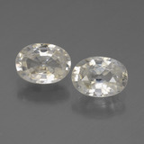 thumb image of 2.3ct Oval Facet White Zircon (ID: 440093)