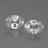 thumb image of 2.2ct Oval Facet White Zircon (ID: 440136)