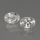 thumb image of 2.6ct Oval Facet White Zircon (ID: 440460)