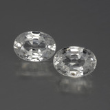 thumb image of 2.7ct Oval Facet White Zircon (ID: 440728)