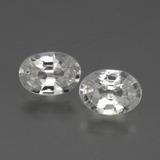 thumb image of 2.2ct Oval Facet White Zircon (ID: 440776)