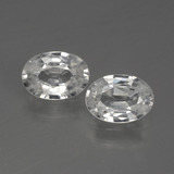 thumb image of 2.3ct Oval Facet White Zircon (ID: 440778)