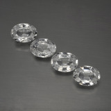 thumb image of 4.4ct Oval Facet White Zircon (ID: 440950)