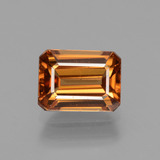 thumb image of 2.7ct Octagon Facet Golden Orange Zircon (ID: 441127)