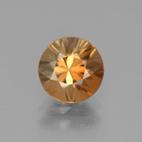 thumb image of 2.4ct Diamond-Cut Golden Zircon (ID: 442314)